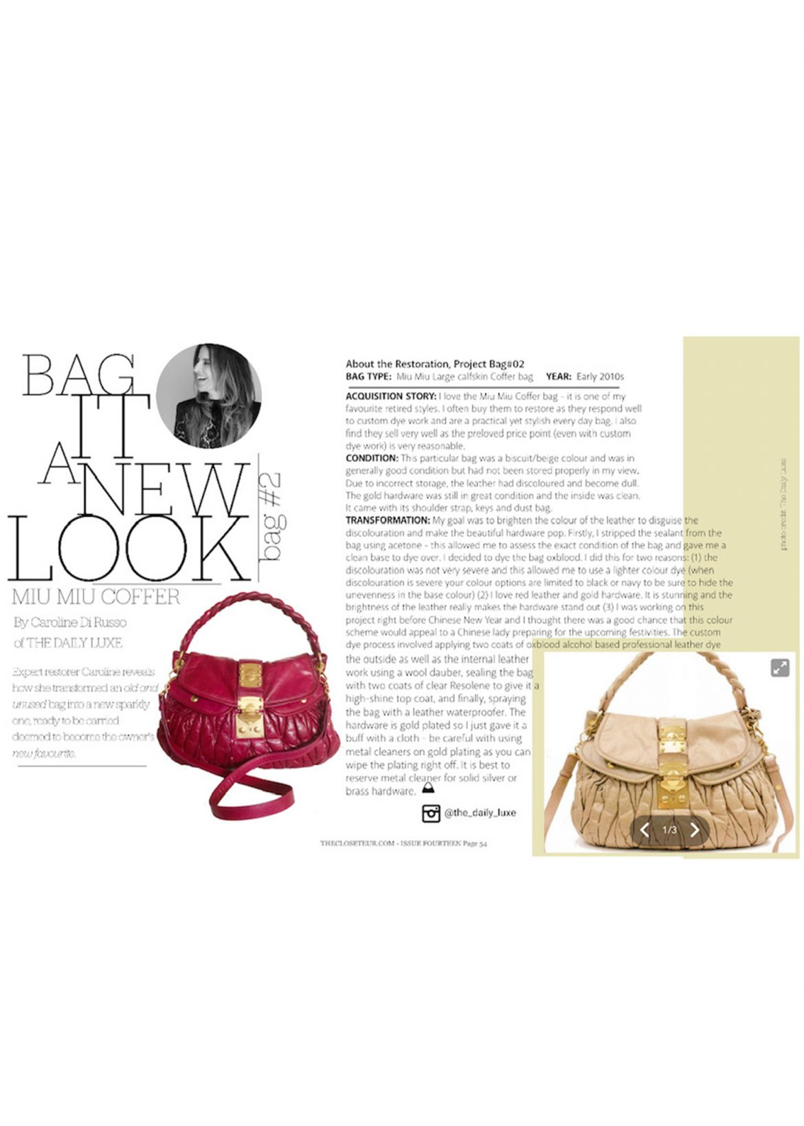 The Daily Luxe in the Media